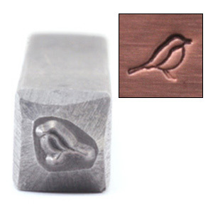 "Metal Stamping Tools Bird Design Stamp, 3/32"" (2.4mm)"