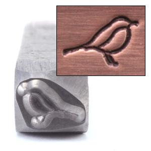 """Metal Stamping Tools Bird Design Stamp, 3/16"""" (4.8mm)"""