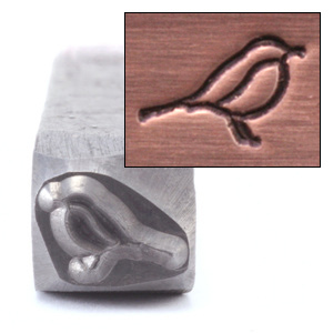 Metal Stamping Tools Bird Metal Design Stamp, 8mm