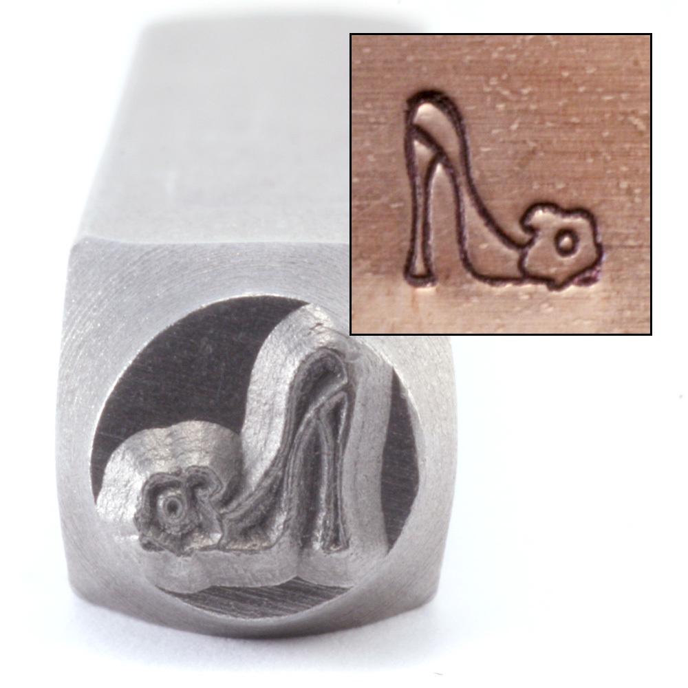 Metal Stamping Tools High Heeled Shoe Design Stamp