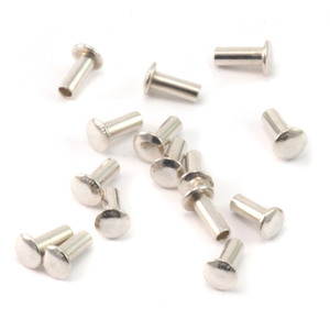 "Riveting Tools & Supplies Sterling Silver Hollow 1/16"" Rivets, 5/32"" Long"