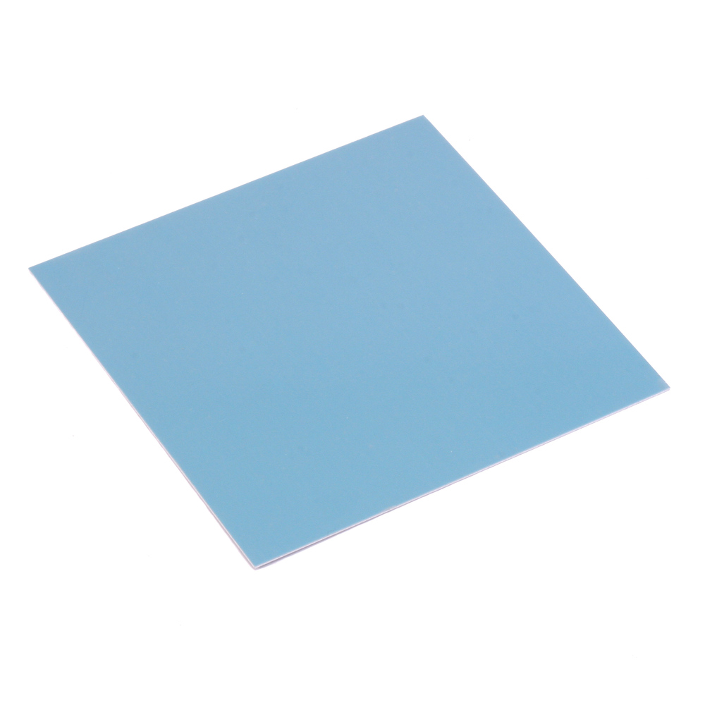 "Wire & Sheet Metal Anodized Aluminum Sheet, 3"" X 3"", 24g, Blue"