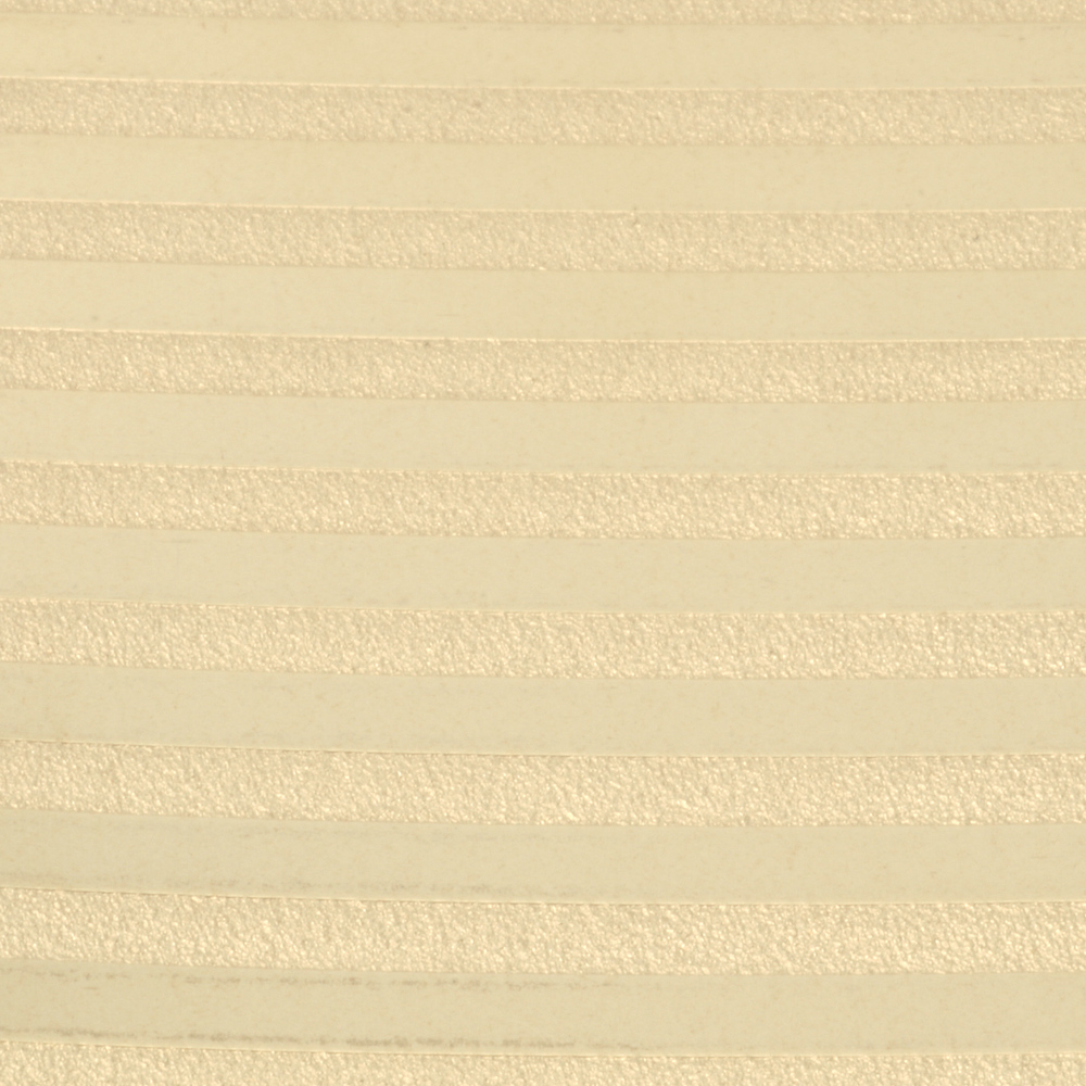 "Wire & Sheet Metal Patterned Brass 22g Sheet Metal, Stripes, 2.5"" x 6"""