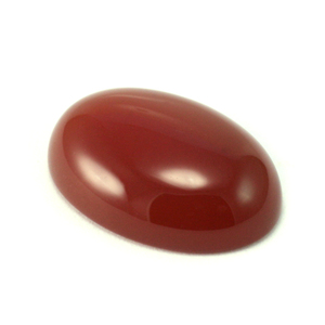 Crystals & Beads Carnelian Cabochon for Soldered Rings and Bezels Class, 18mm