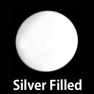 """Metal Stamping Blanks Silver Filled Circle, 16mm (.63""""), 24g"""