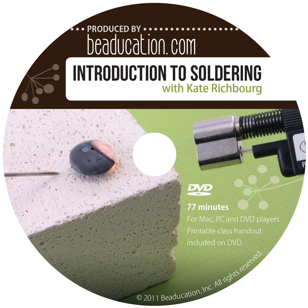 Introduction to Soldering DVD with Kate Richbourg