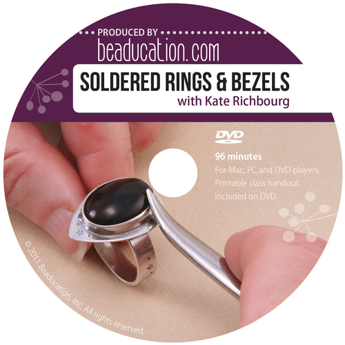 Books Soldered Rings and Bezels DVD with Kate Richbourg