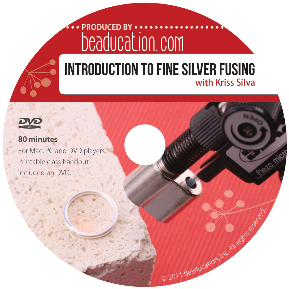 Introduction to Fine Silver Fusing DVD with Kriss Silva