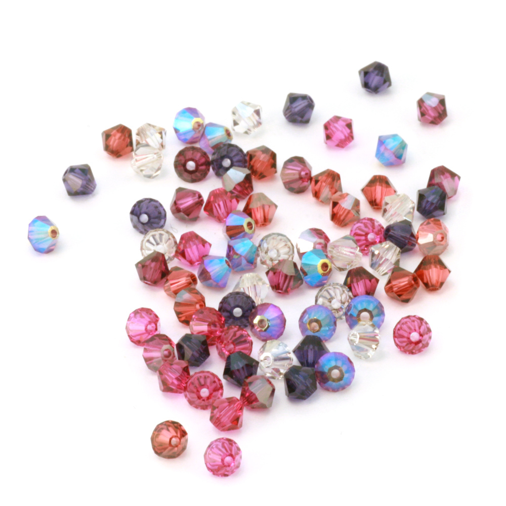 Beads & Swarovski Crystals Ode to Liz Crystal Mix