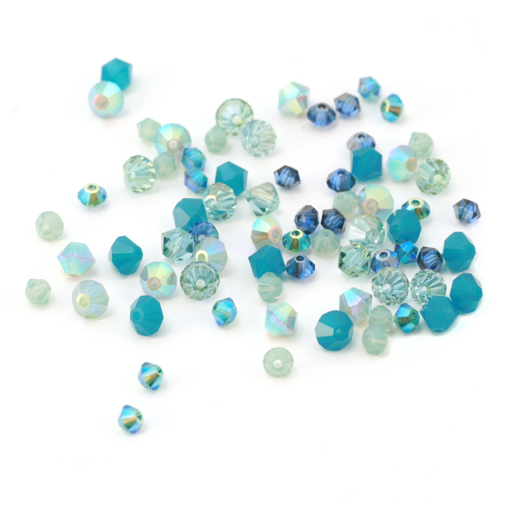 Crystals & Beads Ocean Crystal Mix
