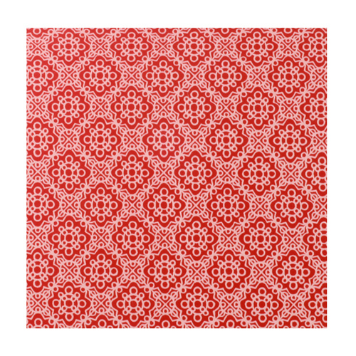 "Dregs Anodized Aluminum Sheet, 3"" X 3"", 22g, Design P - RED"