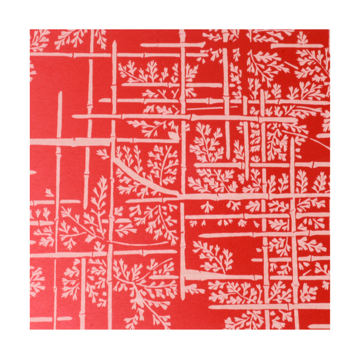 "Anodized Aluminum Sheet, 3"" X 3"", 22g, Design C - RED"