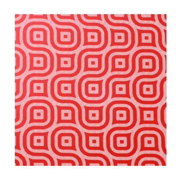 "Anodized Aluminum Sheet, 3"" X 3"", 22g, Design K - RED"