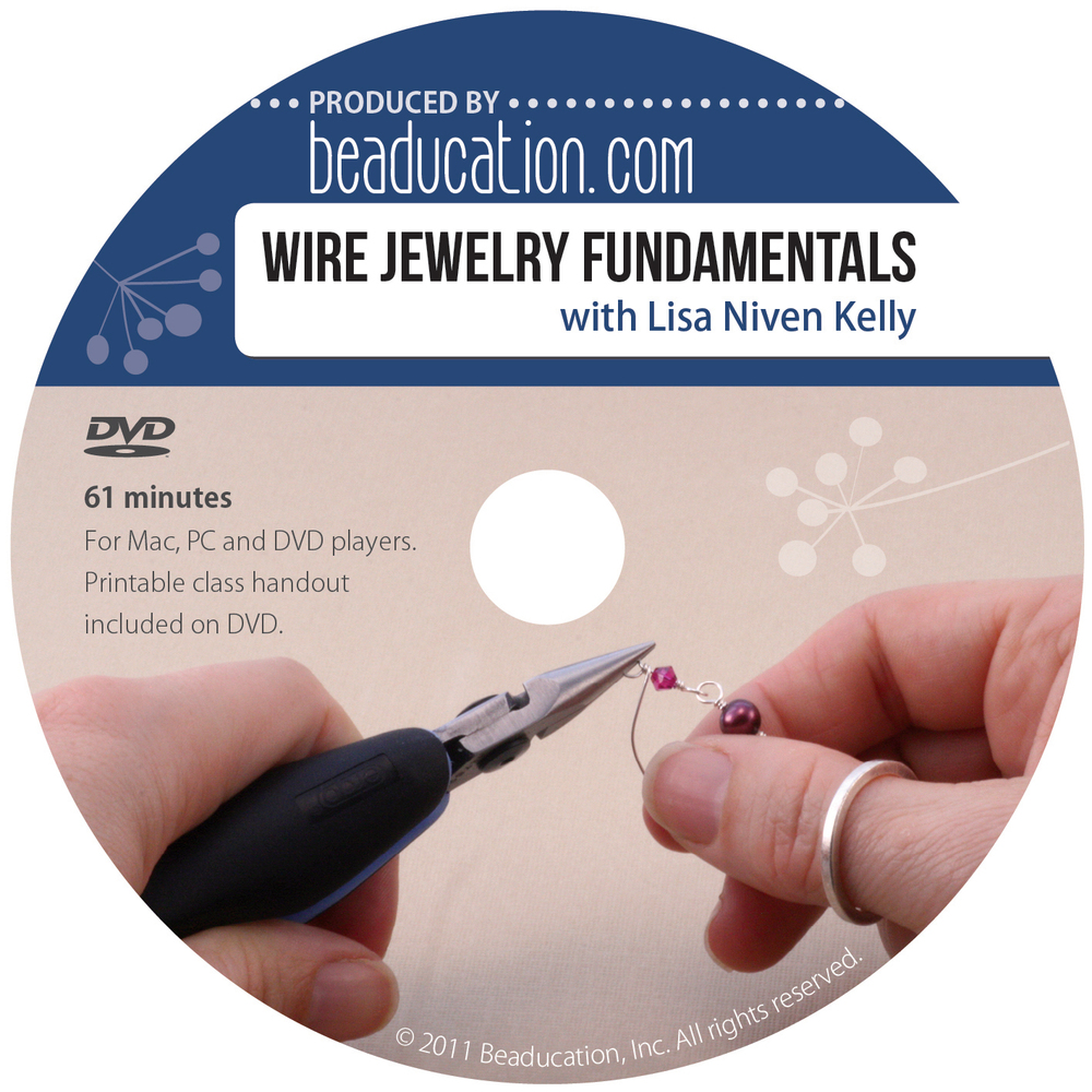 Wire Jewelry Fundamentals DVD with Lisa Niven Kelly