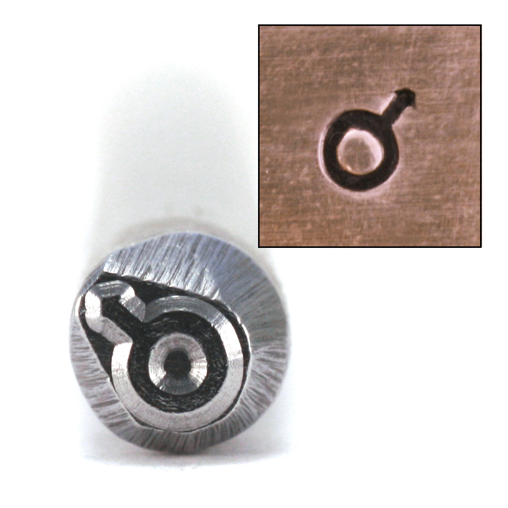 "Metal Stamping Tools ""Male"" Symbol Design Stamp"