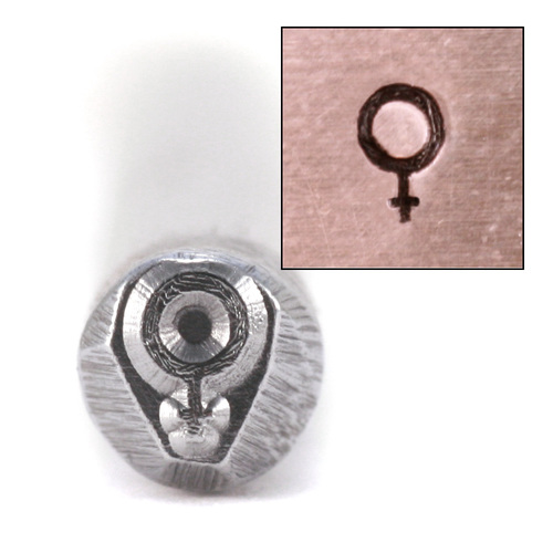 "Metal Stamping Tools ""Female"" Symbol Design Stamp"