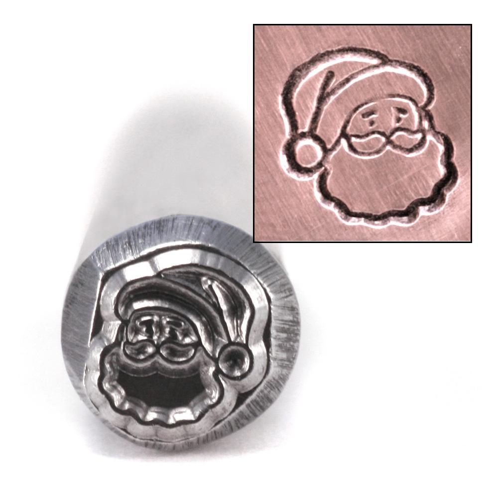 Metal Stamping Tools Santa Head Design Stamp