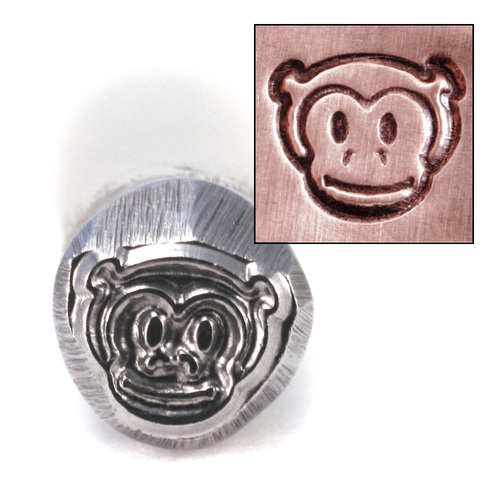 Metal Stamping Tools Monkey Head Design Stamp