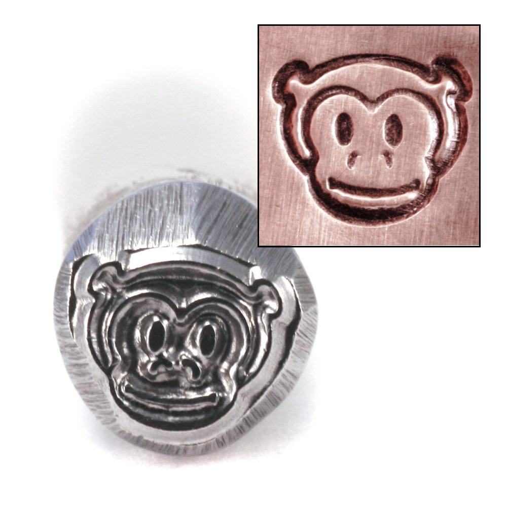 Metal Stamping Tools Monkey Head Design Stamp