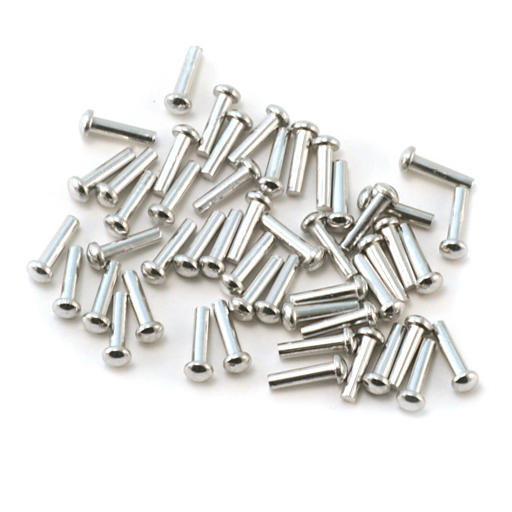 "Rivets,  Findings & Stringing Aluminum Round Head 1/16"" Rivets, 1/4"" Long, Pk 50"