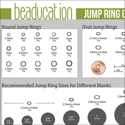 Written Product Guides PRODUCT TIP PDF: Choosing the Right Jump Ring for Your Blank.