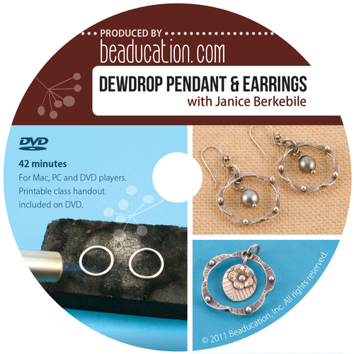 Books Dewdrop Pendant and Earrings DVD with Janice Berkebile