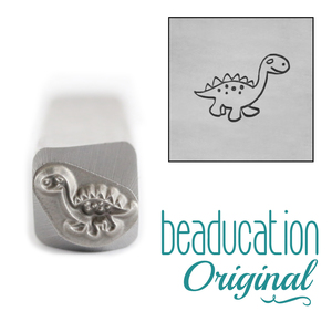 Metal Stamping Tools Dinosaur Metal Design Stamp, 8mm - Beaducation Original