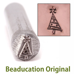 Metal Stamping Tools Christmas Tree Design Stamp- Beaducation Original