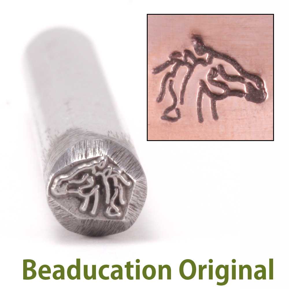 Metal Stamping Tools Horse Design Stamp- Beaducation Original