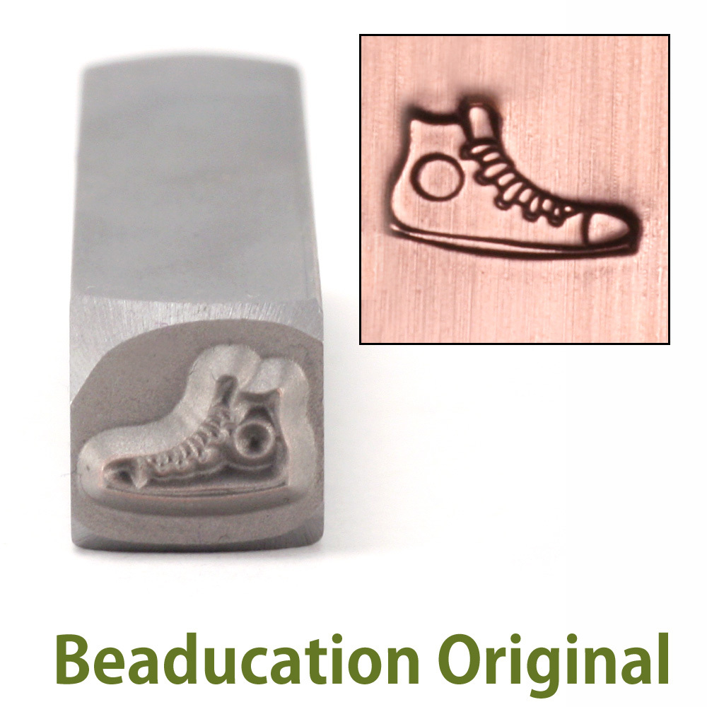Metal Stamping Tools Sneaker Metal Design Stamp- Beaducation Original
