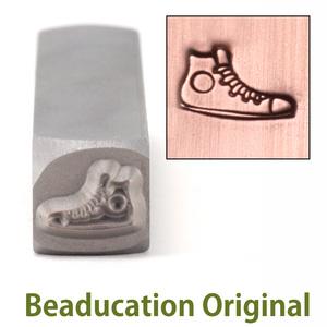 Metal Stamping Tools Sneaker Metal Design Stamp- Beaducation Original