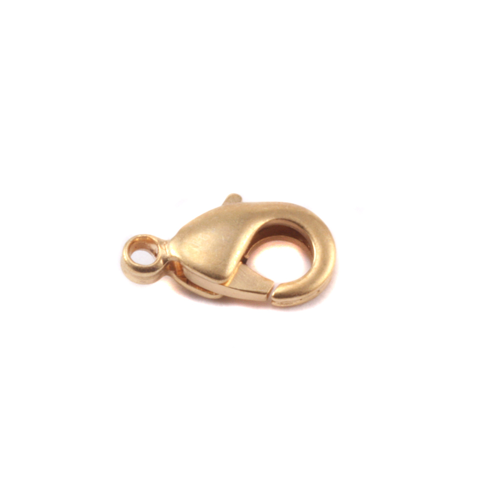 Chain & Clasps Matte Gold Finish Lobster Clasp, 10mm