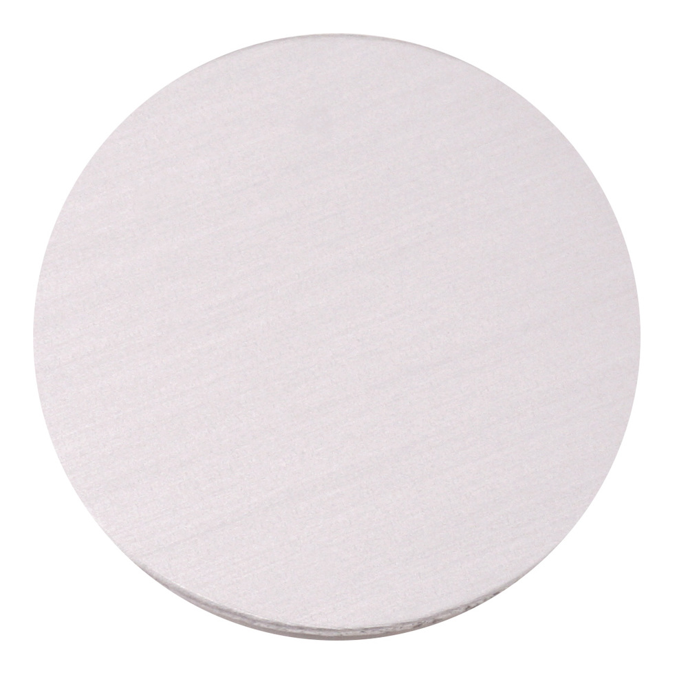 "Metal Stamping Blanks Anodized Aluminum 1"" Circle, Silver, 24g"