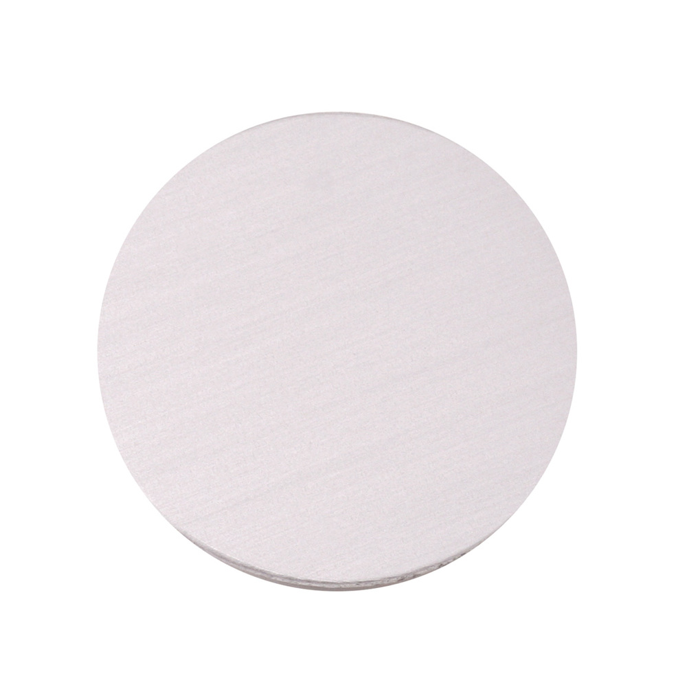 """Metal Stamping Blanks Anodized Aluminum 3/4"""" Circle, Silver, 24g"""