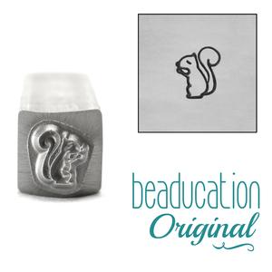 Metal Stamping Tools Squirrel Metal Design Stamp, 6mm - Beaducation Original
