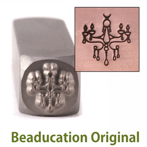 Metal Stamping Tools Chandelier Design Stamp- Beaducation Original