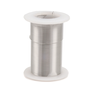 Wire & Sheet Metal Silver Colored Craft Wire, 28g