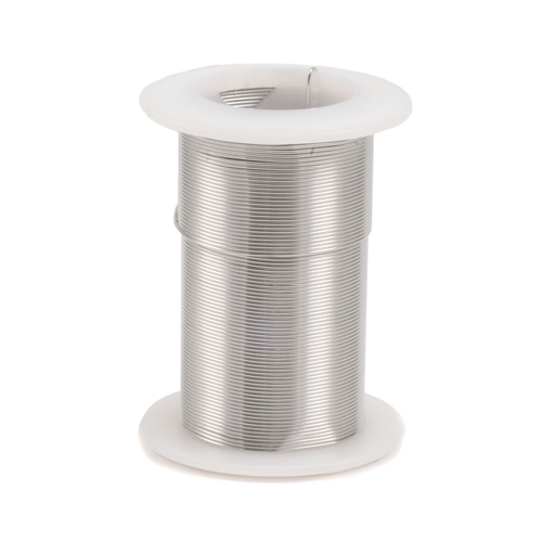 Wire & Metal Tubing Silver Colored Craft Wire, 22g