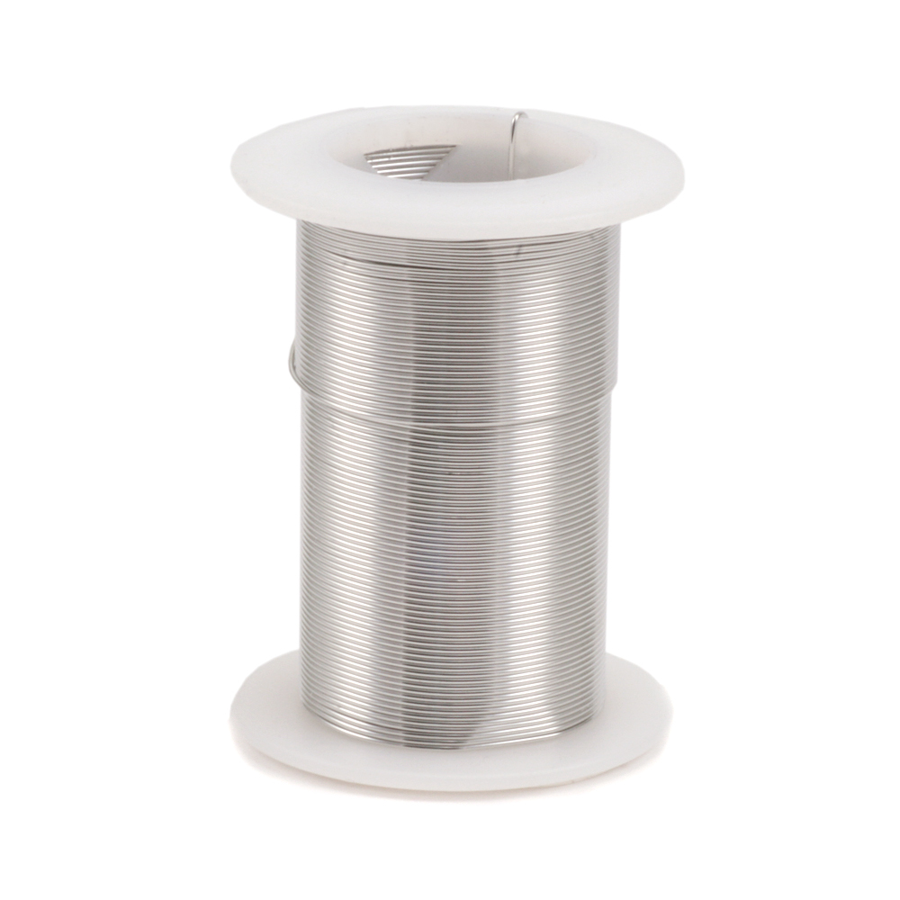Wire & Sheet Metal Silver Colored Craft Wire, 22g