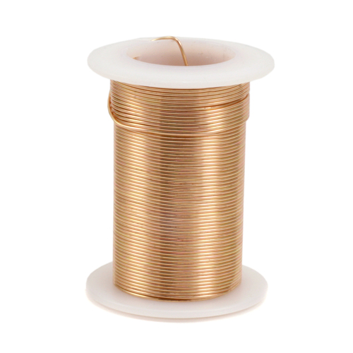 Wire & Metal Tubing Gold Colored Craft Wire, 24g