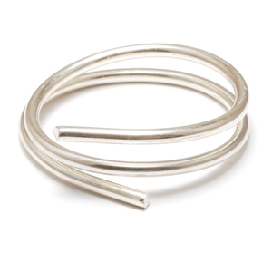 Wire, Tubing & Sheet Metal 12g Sterling Silver, Round, Dead Soft Wire - 1 ft