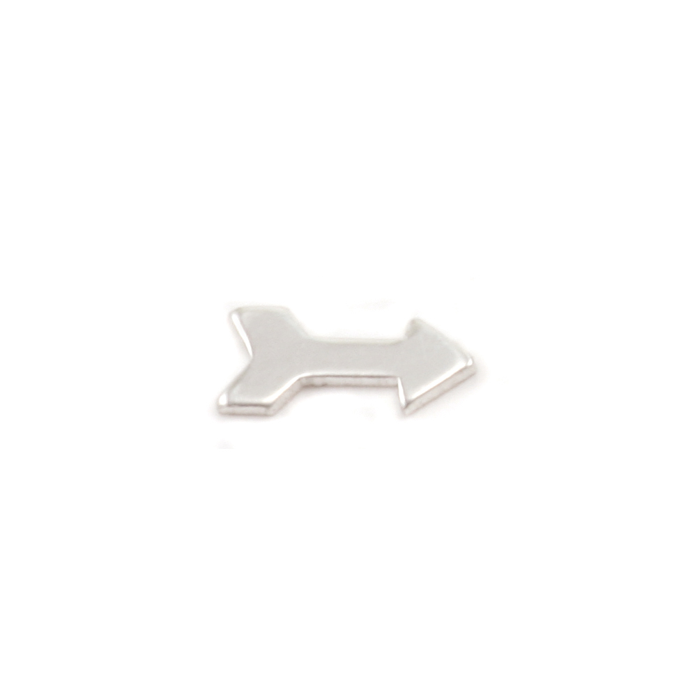 Charms & Solderable Accents Sterling Silver Arrow Solderable Accent, 24g - Pack of 3