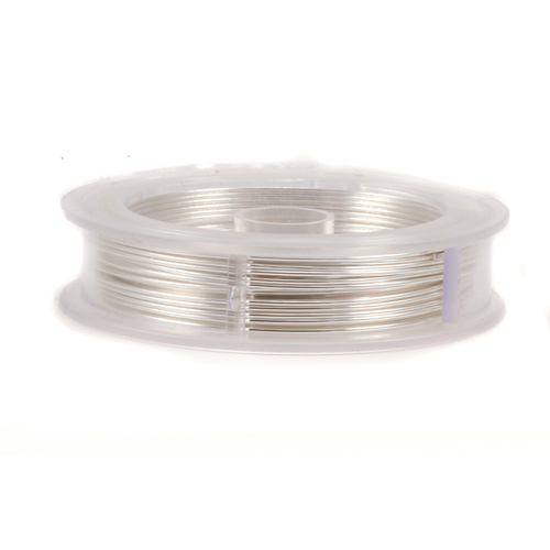 Wire & Metal Tubing Artistic Wire, Non Tarnish Silver 45ft, 24g