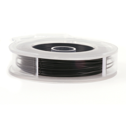 Wire & Metal Tubing Artistic Wire, Black 45ft, 22g