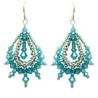 Online Video Classes Mendo Moondrop Earrings Online Class with Barb Switzer