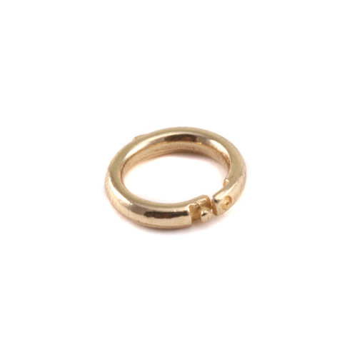 Chain & Jump Rings Brass Locking  Ring
