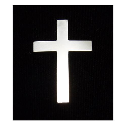 Metal Stamping Blanks Sterling Silver Cross, 24g