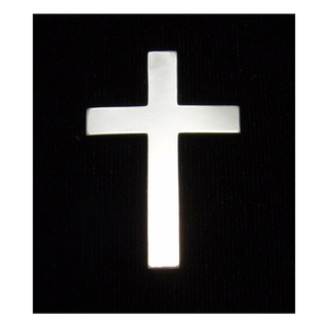 Metal Stamping Blanks Sterling Silver Cross, 24g