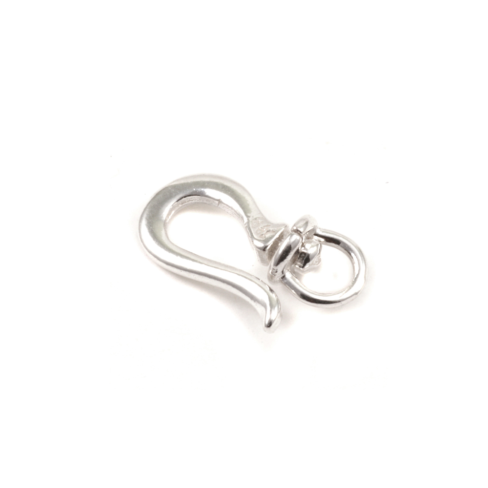 Chain & Clasps Sterling Silver Swivel  Hook Clasp