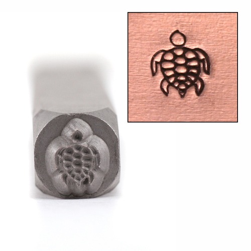 Metal Stamping Tools Sea Turtle Design Stamp